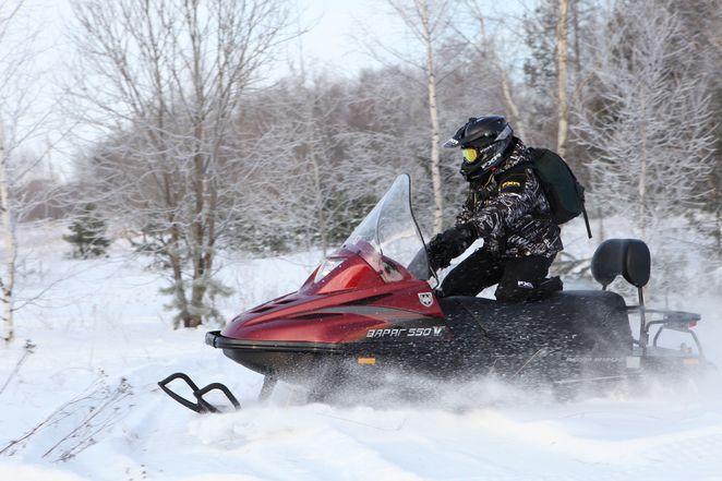 снегоход тайга варяг 550