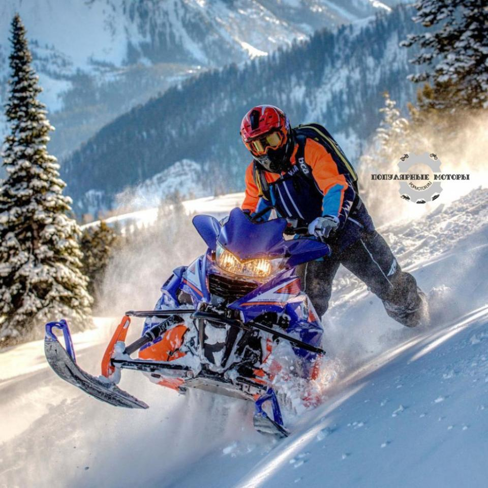Фото анонса модельного ряда снегоходов Yamaha 2015 года - Yamaha SR Viper MTX 162 LE 2015