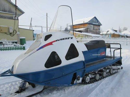 фото снегомобиля mvp вид спереди