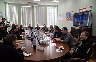 Финская делегация на «Русской механике»