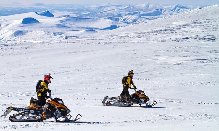 Камчаткинг — Горная снегоходная школа Skidooking - Фото 14