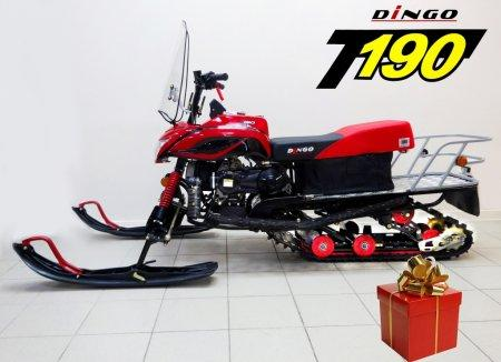 Снегоход DINGO 190сс, проф. тюнинг