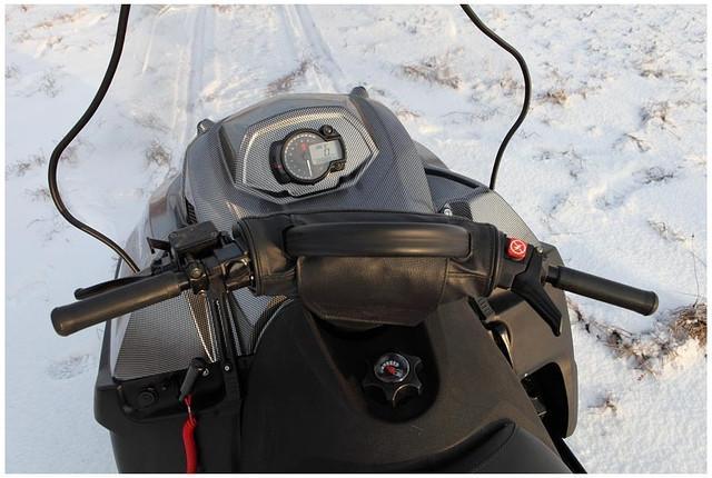 Приборка снегохода Тайга
