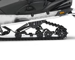 Задняя подвеска снегохода Yamaha Venture