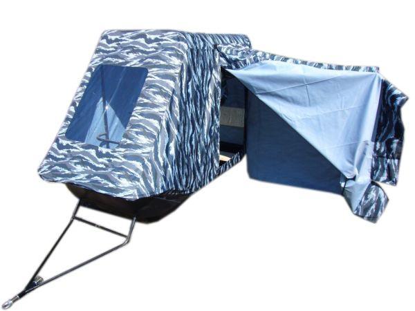 Сани-волокуши Классика-180 с палаткой