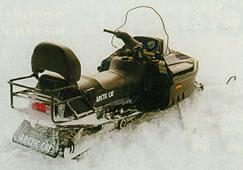 багажник снегохода