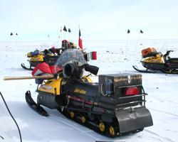 Охота на снегоходах