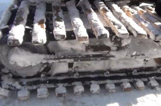 Лыжно-гусеничный мотороллер Муравей