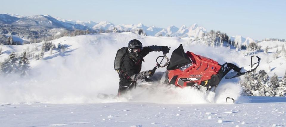 Горный снегоход Polaris PRO-RMK