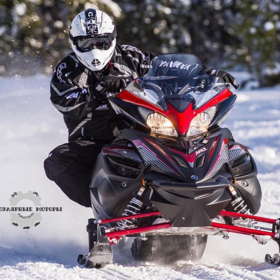 Фото анонса модельного ряда снегоходов Yamaha 2015 года - Yamaha Apex 2015