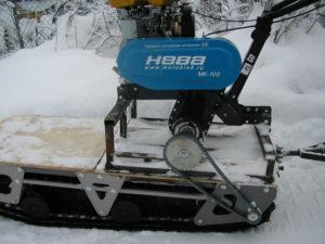 Снегоходы самодельные из мотоблока