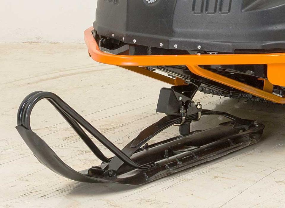 Буран-Лидер - лыжа с твердосплавными подрезами