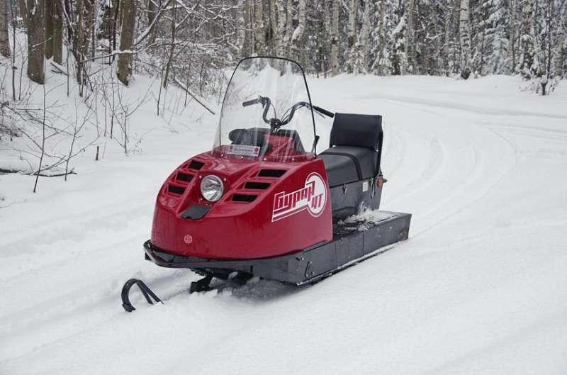 Как переделать снегоход буран - Всё просто
