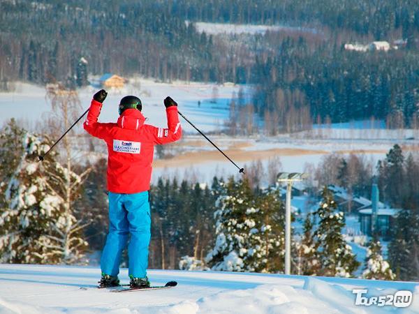 Фото лыжник