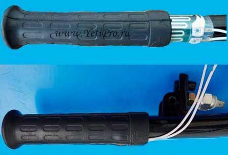 Ручки с подогревом для снегохода купить почтой