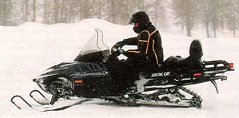 багажник и фаркоп снегохода