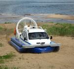 Амфибийный катер на воздушной подушке