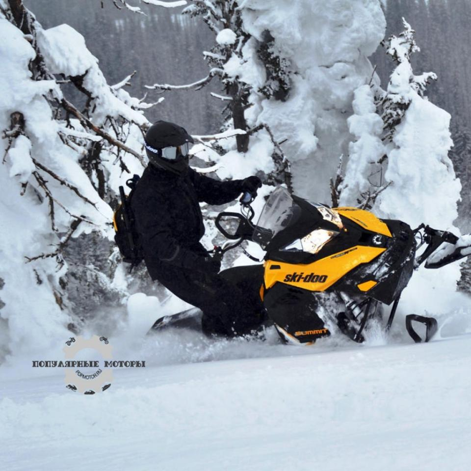 Фото горного снегохода 2013 Ski-Doo XM Summit X 2013