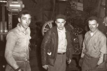 Основатели Polaris - Дэвид Джонсон и братья Эдгар и Алан Хиттены
