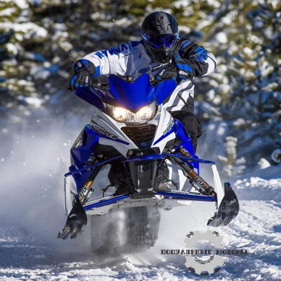 Фото анонса модельного ряда снегоходов Yamaha 2015 года - Yamaha SRViper RTX LE 2015