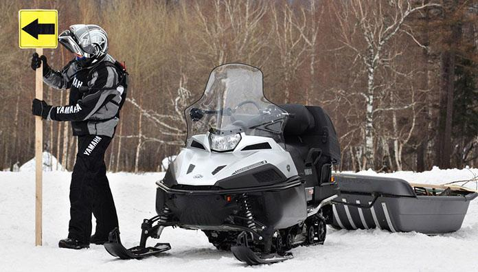 Новый изогнутый дизайн передней подвески модели VK Professional c увеличенным клиренсом облегчает прохождение скрытых под снегом «препятствий», таких как кочки, камни и ледяной нарост.