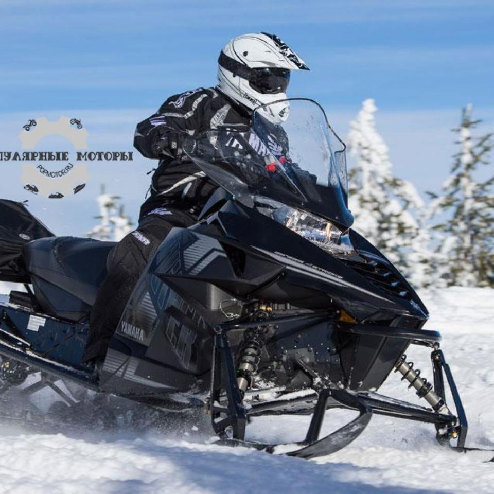 Фото анонса модельного ряда снегоходов Yamaha 2015 года - Yamaha SR Viper STX DX 2015