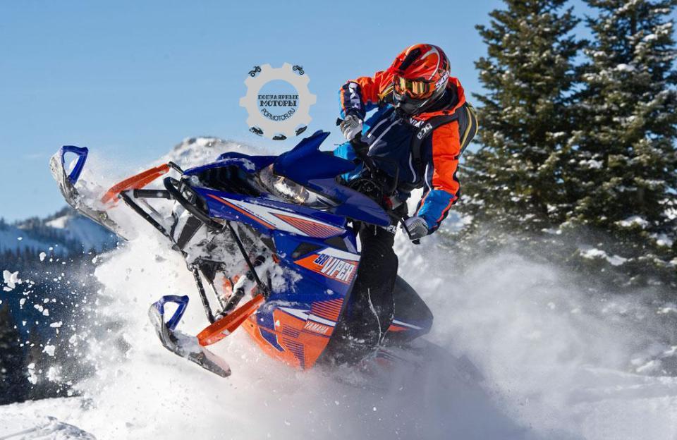 С турбированным 4-тактным 1049-кубовым двигателем Yamaha Genesis кататься в горах невероятно весело!